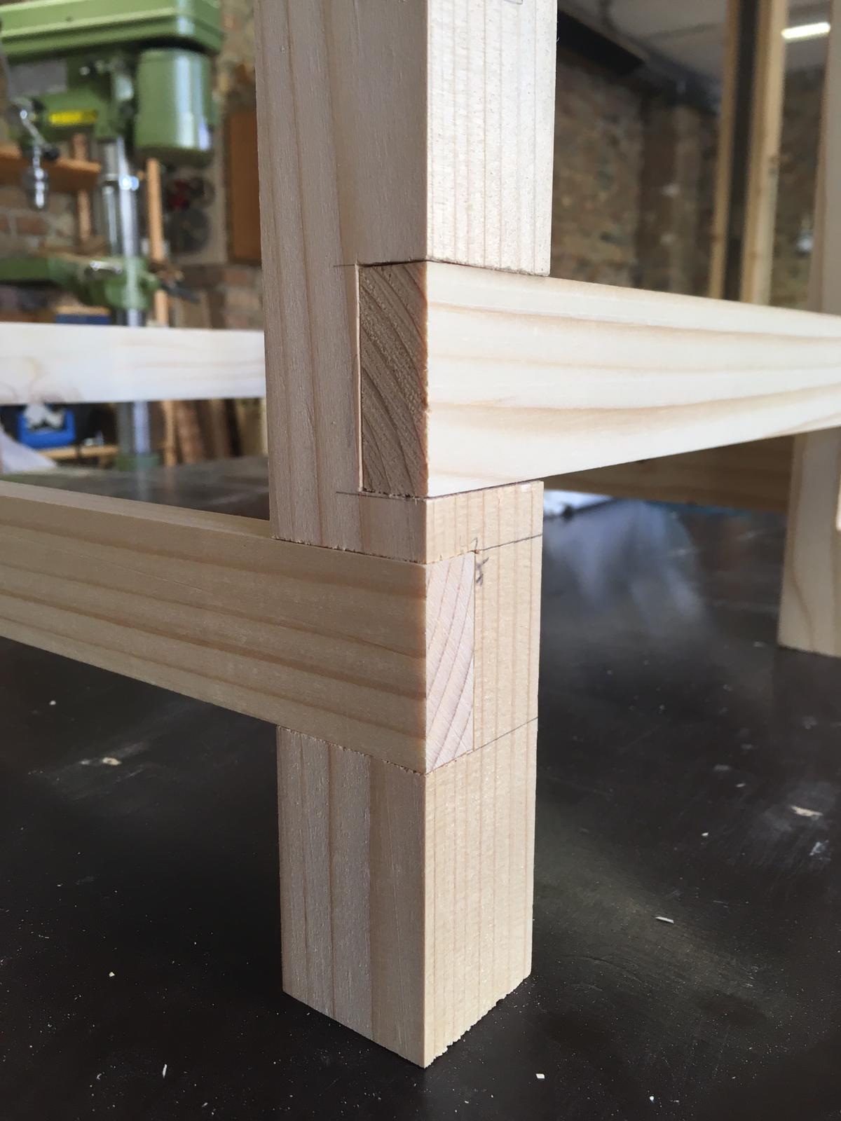 hocker bauen - sit-in