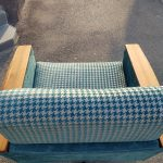 Fauteuile, Sitzmöbel mit tapezieren Armlehnen aus den 60ties